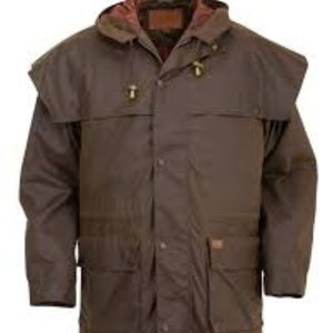 "Outback Trading Company ""Swagman"" Oilcloth jacket"